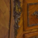 Italian-Style-Marble-Top-Commode-Inlaid-Wood-Brass-Mounts-Hardware-193370722847-7