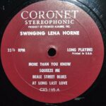 JAZZ-LP-SWINGING-LENA-HORNE-CORONET-RECORDS-CXS165-262773700617-6