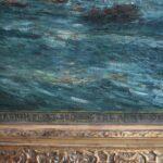 Oil-On-Canvas-Seascape-Carlton-T-Chapman-War-Ship-Rochambeau-Newport-193129596427-3