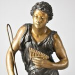 Pair-Male-Female-Cast-Statues-Man-With-Sheperd-Hook-Flute-Lady-With-Bird-264870880407-5