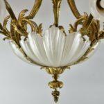 Turn-of-the-Century-Bronze-Rococo-Style-Six-Arm-Chandelier-Light-Fixture-261506079947-4