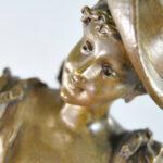 Victorian-Female-Bronze-of-Flower-Girl-S-Kingsburger-192041940887-3