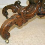 Victorian-Rococo-Carved-Rosewood-Marble-Turtle-Top-Parlor-Table-1870s-263566289527-5