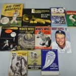 Vintage-Baseball-Ted-Williams-Mickey-Mantle-Score-Book-Whos-Who-193849759907