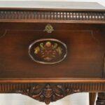 Vintage-Carved-Walnut-Ladies-Drop-Front-Writing-Desk-Circa-1920s-194249166947-2