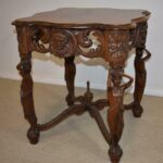 Walnut-Lamp-Table-with-Standing-Carved-Full-Bodied-Female-Figures-1930s-264272195347