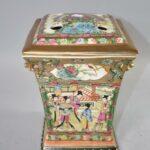20th-Century-Chinese-Famille-Rose-Medallion-Bough-Vase-192528647528