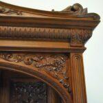 Antique-Renaissance-Revival-Walnut-Buffet-Carved-Details-Beveled-Glass-1890s-263359464358-7