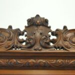 Antique-Renaissance-Revival-Walnut-Buffet-Carved-Details-Beveled-Glass-1890s-263359464358-8