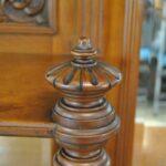 Antique-Renaissance-Revival-Walnut-Buffet-Carved-Details-Beveled-Glass-1890s-263359464358-9