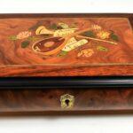 Italian-Music-Box-Reuge-Mozart-Menuet-Inlaid-Musical-Instruments-265089516788