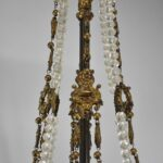 Large-Rococo-Bronze-with-Hand-Cut-Crystals-Chandelier-Light-Fixture-193367654388-6