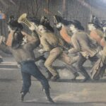 N-Currier-The-Life-Of-A-Fireman-Jump-Her-Boys-Jump-Her-Lithograph-L-Maurer-264169729508-7