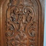 Pair-Carved-Walnut-Decorative-Wall-Hangings-Panels-194014546888-3