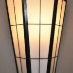 Pair-Over-Size-Exterior-Interior-Wall-Sconce-Lights-Black-Brass-Glass-263606016438-4