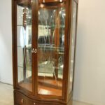 Thomasville-Mahogany-Bogart-Collection-Curio-China-Display-Cabinet-Bel-Air-264931660138-2