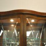 Thomasville-Mahogany-Bogart-Collection-Curio-China-Display-Cabinet-Bel-Air-264931660138-3