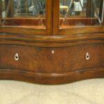 Thomasville-Mahogany-Bogart-Collection-Curio-China-Display-Cabinet-Bel-Air-264931660138-5