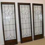 Three-Antique-Framed-Beveled-Clear-Glass-Door-Panels-20-12-x-63-12-264599813678