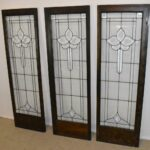 Three-Antique-Framed-Beveled-Clear-Glass-Door-Panels-20-12-x-63-12-264599813678-2