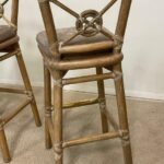 Three-McGuire-Target-Back-Bar-Stools-Bamboo-Brass-Foot-Rest-193942584878-4
