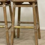 Three-McGuire-Target-Back-Bar-Stools-Bamboo-Brass-Foot-Rest-193942584878-5