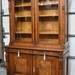Victorian-Walnut-Two-Door-Bookcase-Circa-1880s-193579755178