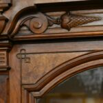Victorian-Walnut-Two-Door-Bookcase-Circa-1880s-193579755178-8