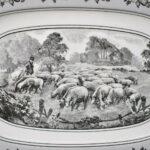 Villeroy-Boch-Black-White-Audun-Ferme-Farm-Scenery-Oval-Platter-13-12-x-9-194217413118-2