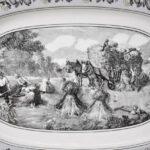 Villeroy-Boch-Black-White-Audun-Ferme-Farm-Scenery-Oval-Platter-16-x-11-265208926258-2
