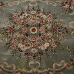 Vintage-Oriental-Area-Rug-9-x-12-Mint-Green-Room-Size-264821163848-3