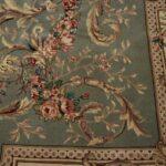Vintage-Oriental-Area-Rug-9-x-12-Mint-Green-Room-Size-264821163848-4