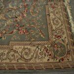 Vintage-Oriental-Area-Rug-9-x-12-Mint-Green-Room-Size-264821163848-5