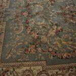 Vintage-Oriental-Area-Rug-9-x-12-Mint-Green-Room-Size-264821163848-6