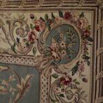 Vintage-Oriental-Area-Rug-9-x-12-Mint-Green-Room-Size-264821163848-9