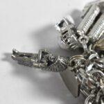 Vintage-Sterling-Silver-Bracelet-35-Charms-1392-Grams-Cuckoo-Clock-194160067308-6