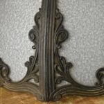 ANTIQUE-WHITE-FROSTED-ROSE-REVERSE-PAINTED-BENT-PANEL-SLAG-GLASS-LAMP-264501851579-5
