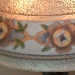 Antique-Pairpoint-Reverse-Painted-Lamp-Floral-Border-Signed-264776834959-3