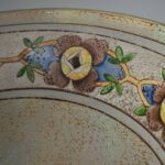 Antique-Pairpoint-Reverse-Painted-Lamp-Floral-Border-Signed-264776834959-8