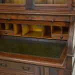 Antique-Victorian-Walnut-Cylinder-Desk-Circa-1890s-Carved-Details-264820314769-5
