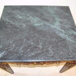 Carved-Walnut-With-Gold-Highlights-Table-Malacite-Green-Marble-Top-193368943319-5