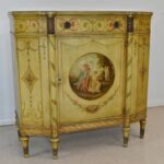 French-Style-Hand-Painted-Commode-Irwin-Furniture-193711954979