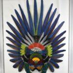 Gwen-Bennett-Framed-Feather-Art-Mask-264795110839