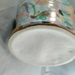 Handpainted-Artist-Signed-Pugh-Pottery-Table-Lamp-264501951459-5