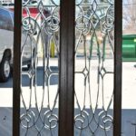 Pair-Antique-Framed-Beveled-Glass-Sidelight-Windows-193984799199