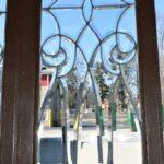Pair-Antique-Framed-Beveled-Glass-Sidelight-Windows-193984799199-3