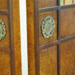 Regency-Style-Burl-Wood-Four-Panel-Screen-by-Mario-Buatta-for-Widdicomb-192178600259-4