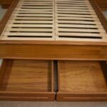 Teak-Queen-Size-Platform-Floating-Bed-With-Side-Stands-81-Series-194217590309-6
