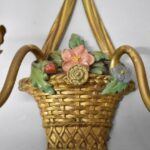 Three-French-Style-Bronze-Basket-Form-Two-Arm-Sconces-194213030949-4