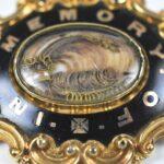 Victorian-9K-Gold-Morning-Pin-Brooch-Enamel-Work-Circa-1882-264986334459-2